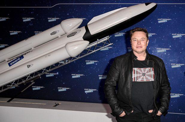 Elon Musk SpaceX - Pool:AFP via Getty Images